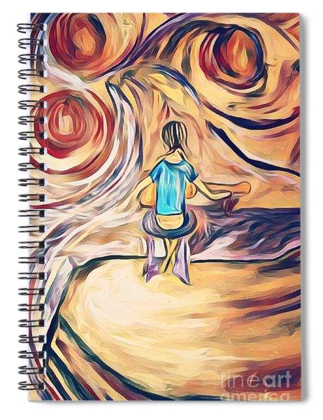 All Around Me Spiral Notebook