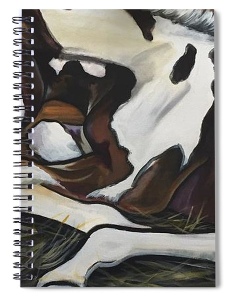 All Legs And Spots Spiral Notebook