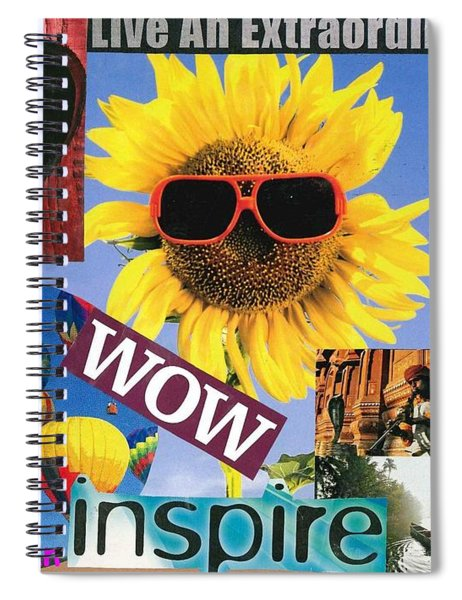 All Of Life Can Inspire Spiral Notebook