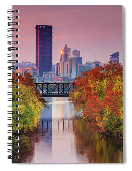 All Pittsburgh Pink  Spiral Notebook
