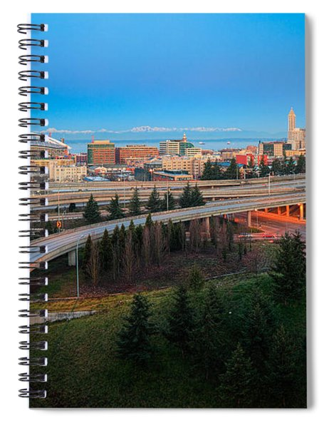 All Roads Lead To Seattle Spiral Notebook