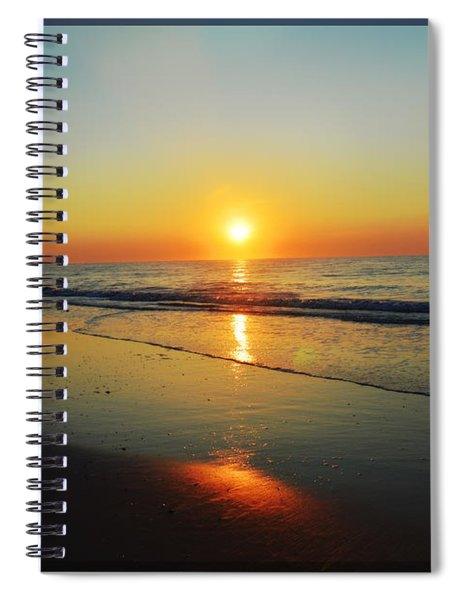 All That Shimmers Is Golden Spiral Notebook