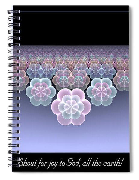 All The Earth Spiral Notebook