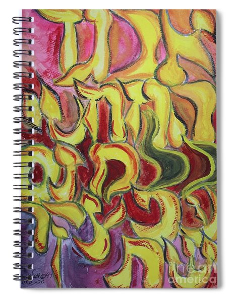 All The Letters  Ab1 Spiral Notebook