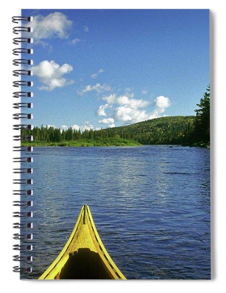 Allagash River, Northern Maine, Usa Spiral Notebook