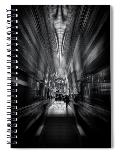 Allen Lambert Galleria Toronto Canada No 1 Flow Version Spiral Notebook