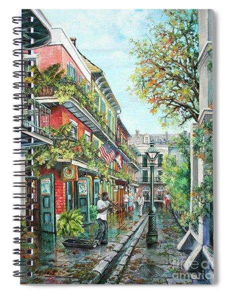 Alley Jazz Spiral Notebook