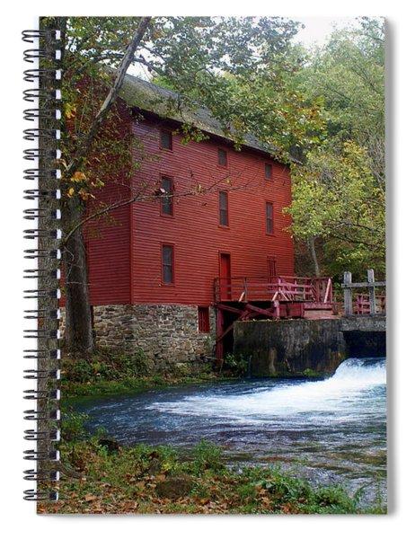 Alley Sprng Mill 3 Spiral Notebook