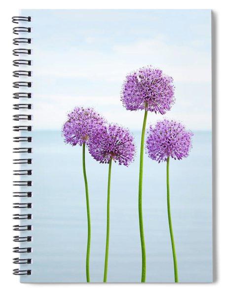 Alliums 2 Spiral Notebook