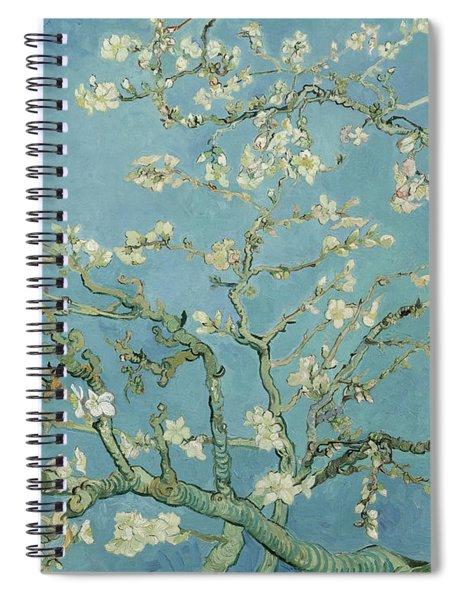 Almond Blossom Spiral Notebook