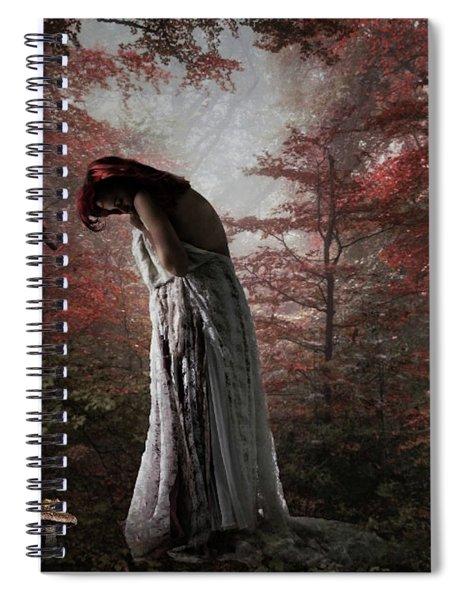 Almost Alone Spiral Notebook