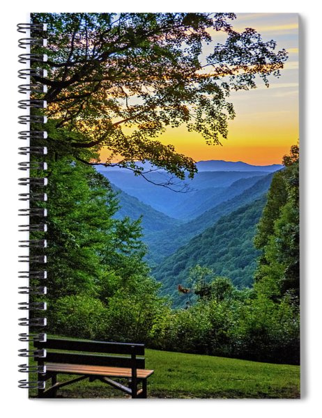 Almost Heaven - West Virginia 3 Spiral Notebook