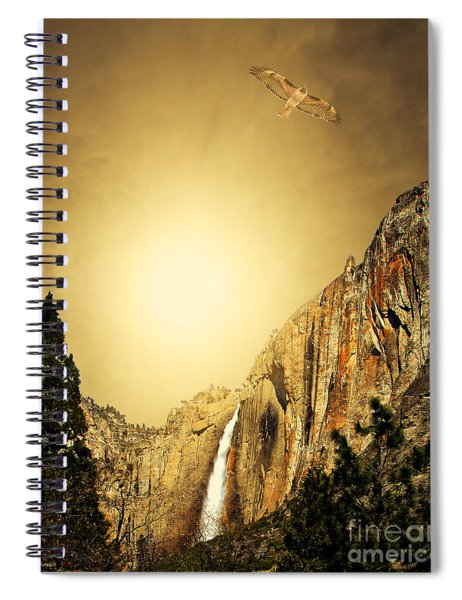 Almost Heaven Spiral Notebook