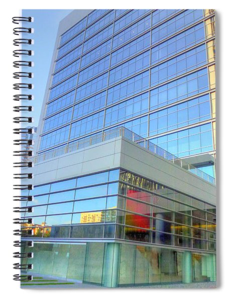 Almost Invisible La Spiral Notebook