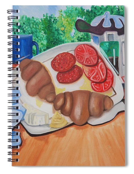Almyrida Luncheon Spiral Notebook