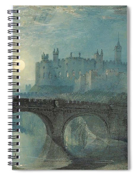 Alnwick Castle Spiral Notebook