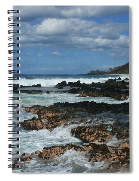 Aloha Island Dreams Paako Beach Makena Secret Cove Hawaii Spiral Notebook
