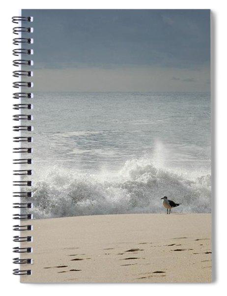 Alone - Jersey Shore Spiral Notebook