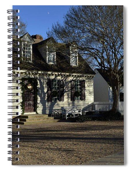 Along A Williamsburg Street Spiral Notebook