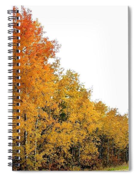 Along Broadwater Road Spiral Notebook