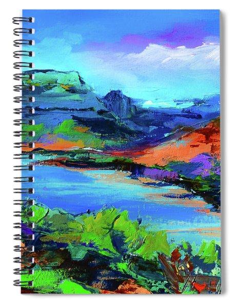 Along Colorado River - Utah Spiral Notebook