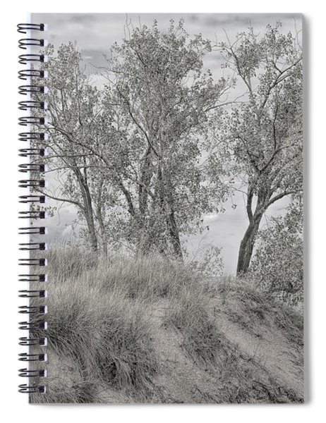 Along Shores Of Lake Michigan Spiral Notebook
