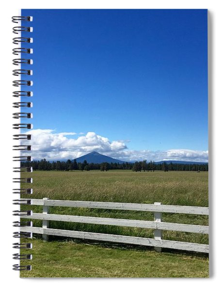 Along The Fence Line Spiral Notebook