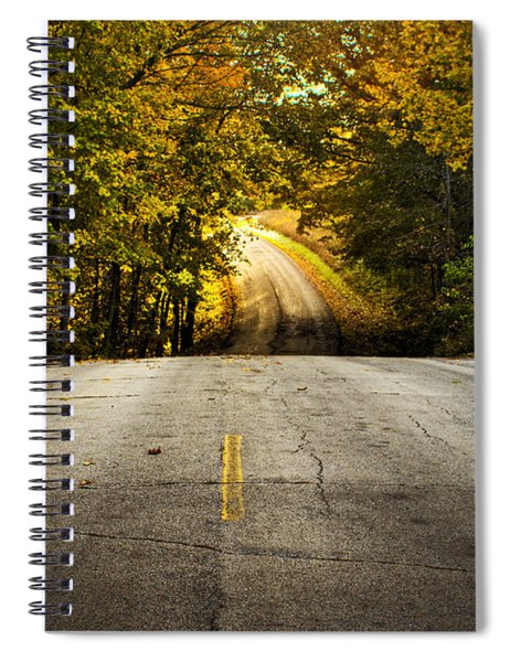 Along The La Aqua Na Circle Road Spiral Notebook