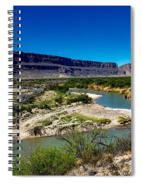 Along The Rio Grande River Spiral Notebook