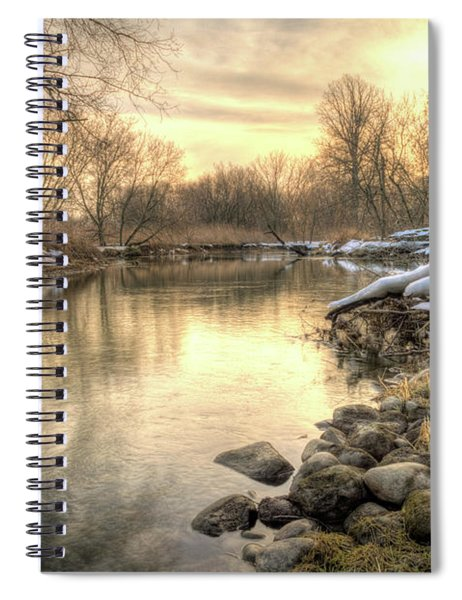 Along The Thames River Signed Spiral Notebook
