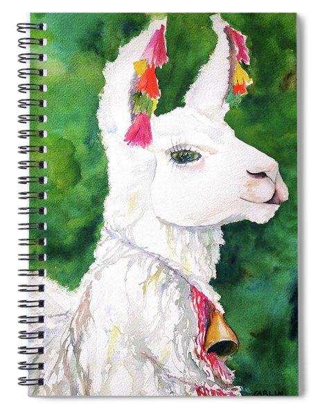 Alpaca With Attitude Spiral Notebook