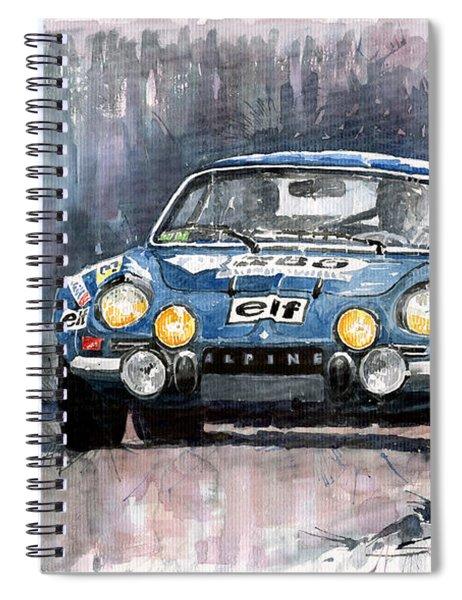 Alpine A 110 Spiral Notebook