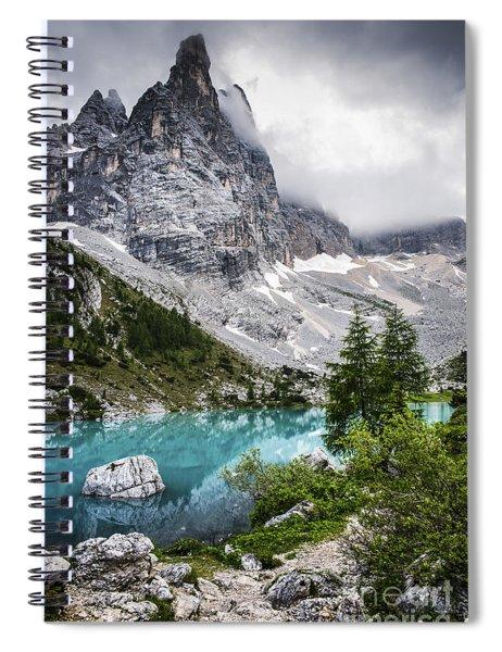 Alpine Lake Spiral Notebook