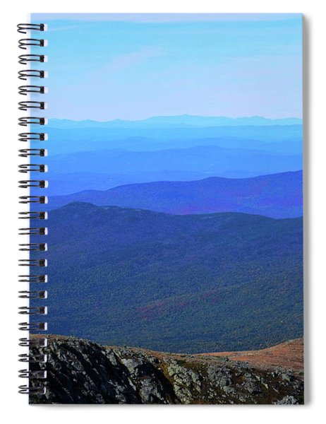 Spiral Notebook featuring the photograph Alpine Tundra by Patti Whitten