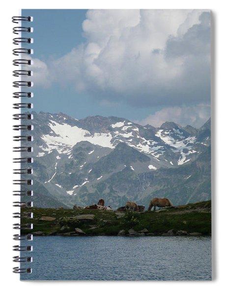 Alps Magenificence Spiral Notebook