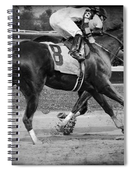Also Rans Bw Spiral Notebook