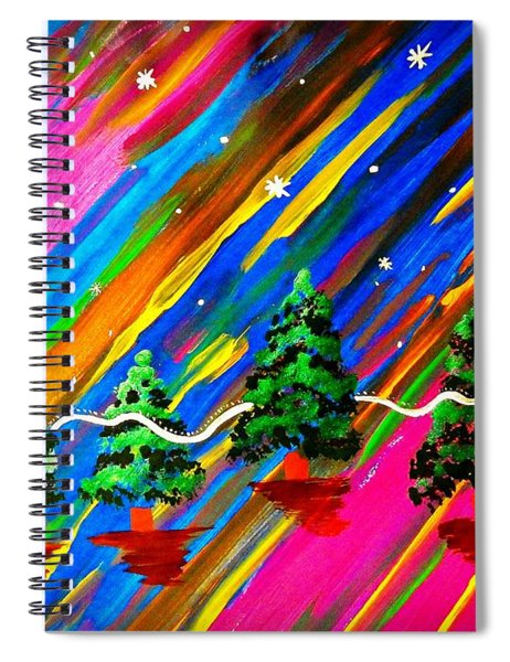 Altered States Of Consciousness Spiral Notebook