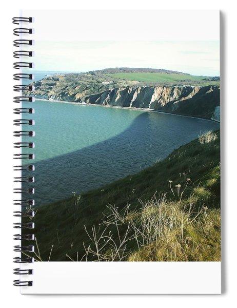 Alum Bay, Isle Of Wight Spiral Notebook