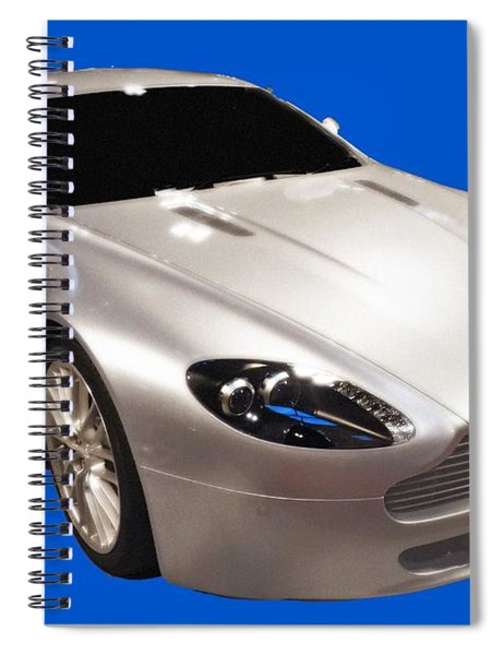 Am Sports Car Art Spiral Notebook