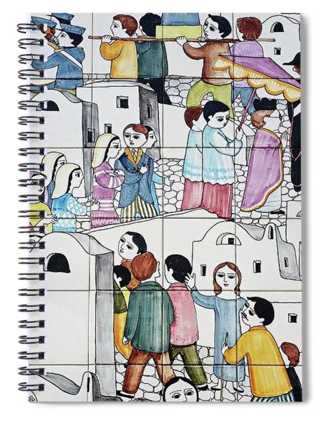 Amalfi Street Art 2 Spiral Notebook