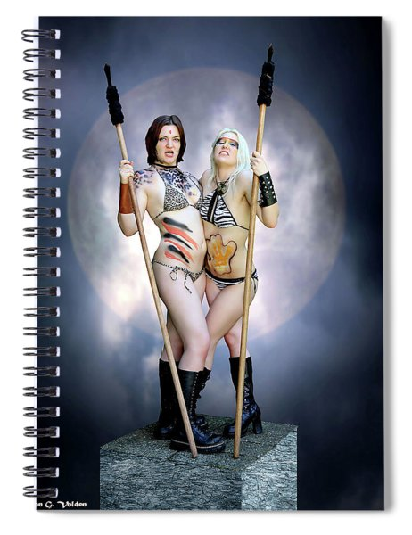 Amazon With Spears Spiral Notebook