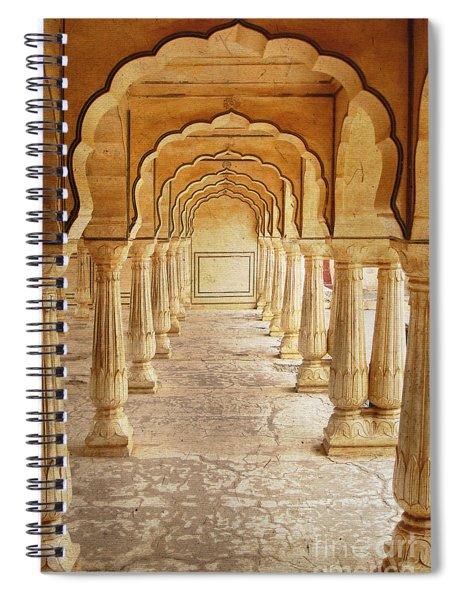 Amber Palace Spiral Notebook