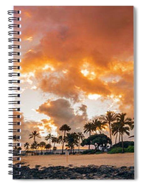Amber Palms Spiral Notebook