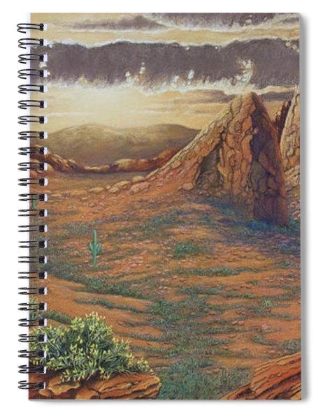 Amber Sky Spiral Notebook