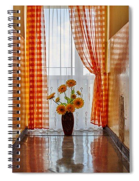 Amber View Spiral Notebook