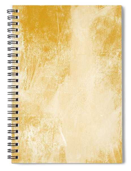 Amber Waves Spiral Notebook by Linda Woods