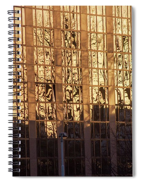 Amber Window Spiral Notebook