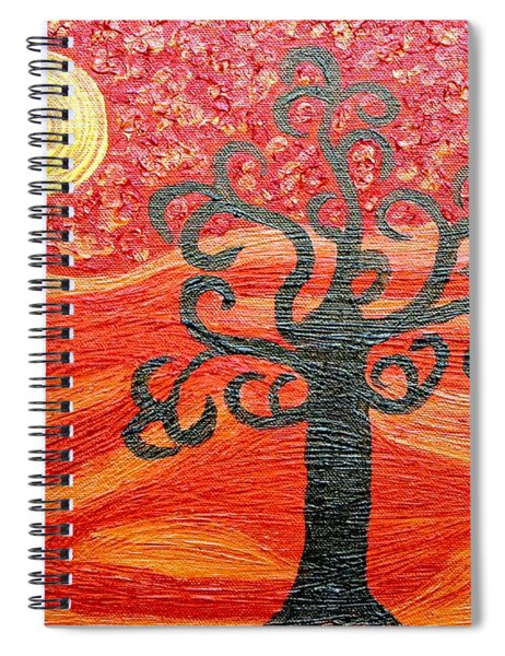 Ambient Bliss Spiral Notebook