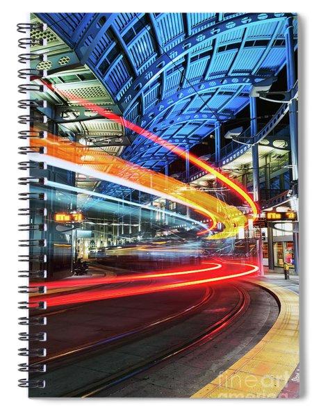 America Plaza Station Spiral Notebook