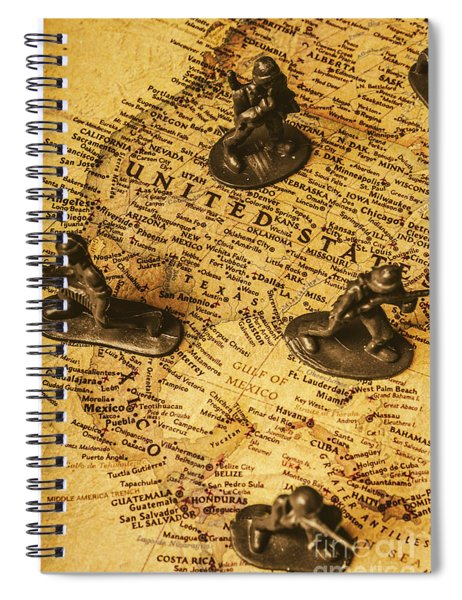American Army  Spiral Notebook